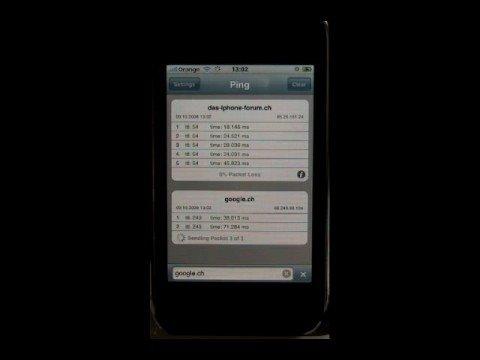 iPhone App - Ping