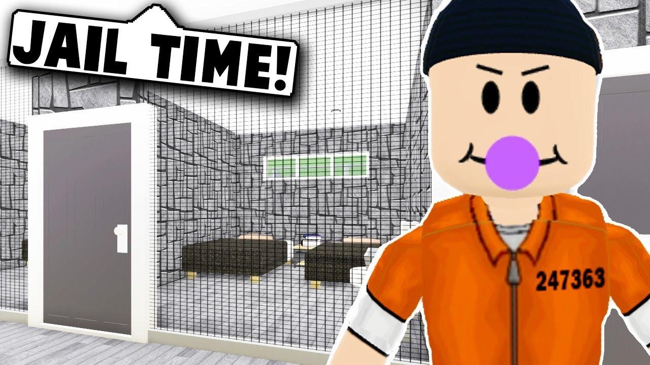 I MADE A PRISON ON BLOXBURG (Roblox Bloxburg) Roblox Roleplay