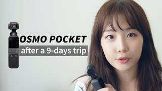 오즈모 포켓, 9일간 여행하며 촬영해보니... 솔직한 단점! + 촬영 영상