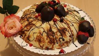 Рецепт - Блинный торт от videokulinaria.ru