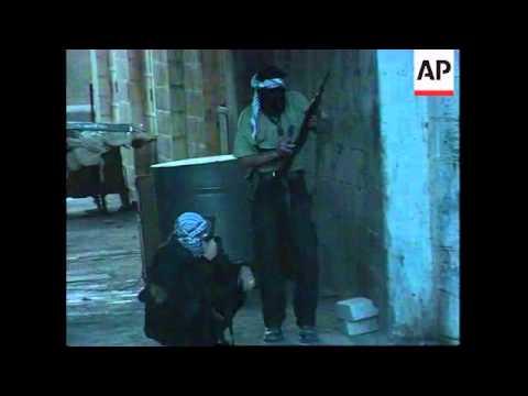 Palestinian snipers target Israeli troops in West Bank.