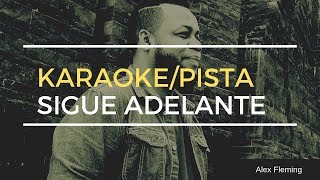 Karaoke / Pista SIGUE ADELANTE