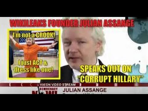 Breaking Assange interview Wikileaks reveals Hillary Clinton Funding ISIS & Turkey Coup? August 2016
