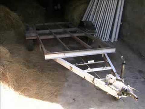 Ma remorque a bateau youtube - Plan pour fabriquer table forestiere ...