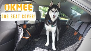 OKMEE Dog Seat Cover Review!!