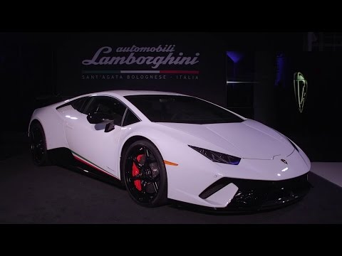 The Huracán Performante at New York International Auto Show
