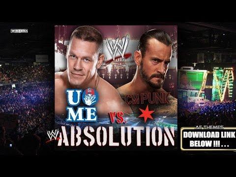 WWE: Absolution CM Punk Vs John Cena Promo Theme Song + AE Arena Effect
