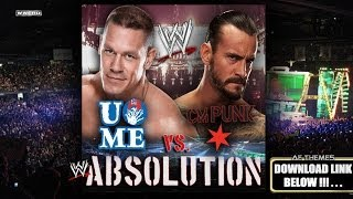 "WWE: ""Absolution"" (CM Punk Vs. John Cena Promo) Theme Song + AE (Arena Effect)"