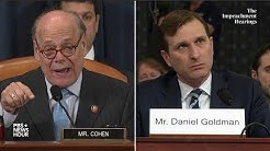 WATCH: Rep. Steve Cohen's full questioning of Democratic counsel | Trump impeachment hearings