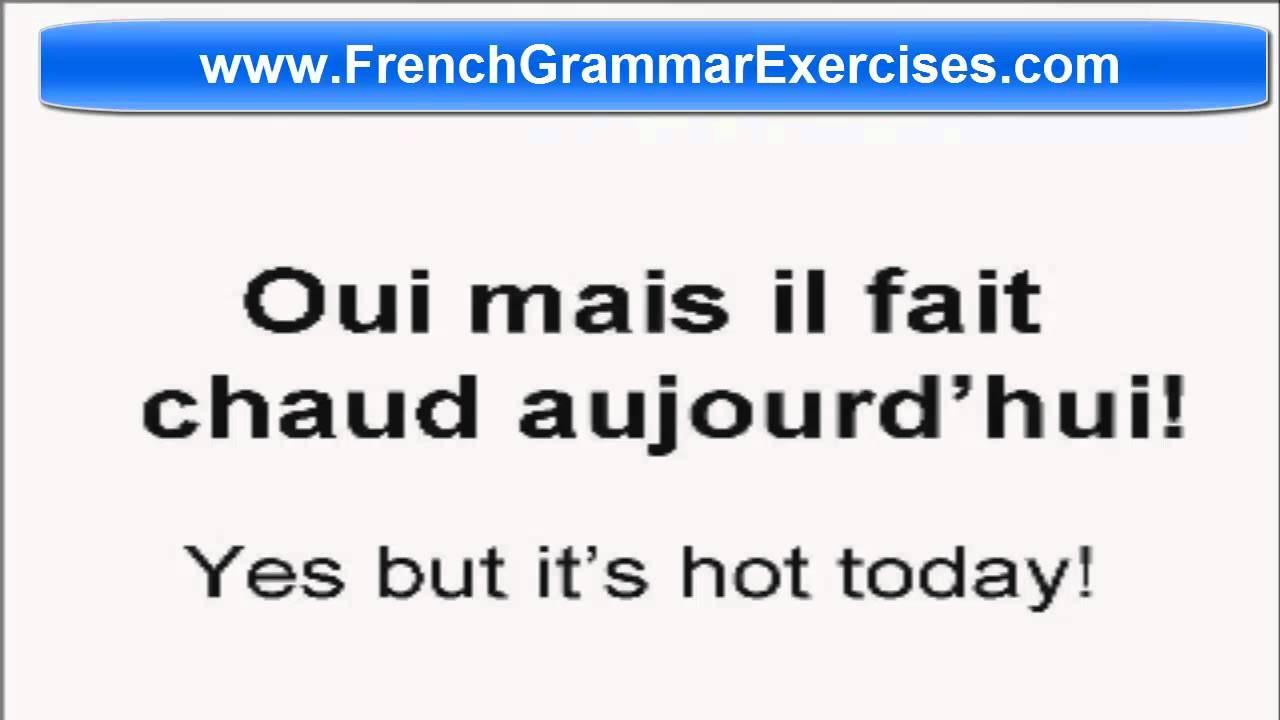 advanced french grammar exercises pdf