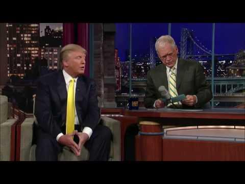 Letterman Trump's Beauty Pageants1 - MISS USA