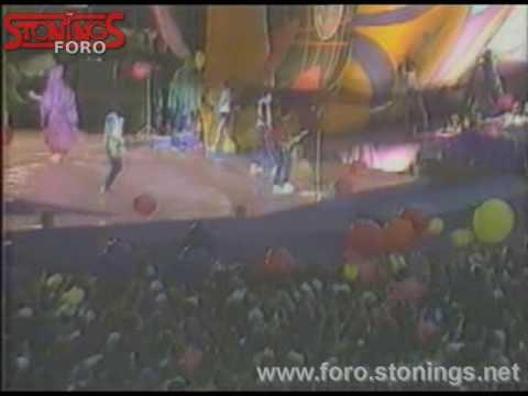 ROLLING STONES-Estadio Vicente Calderón, Madrid. 07/07/1982