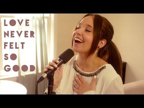 Love Never Felt So Good - Michael Jackson & Justin Timberlake | Ali Brustofski Cover (Music Video)