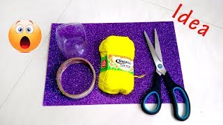 Plastic bottle crafts | Ganpati Decoration | Best out of waste