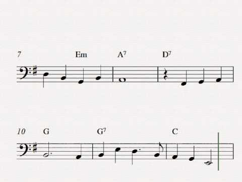Danny Boy (Londonderry Air) - Free easy cello sheet music - YouTube