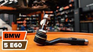 Hoe een spoorstangeinde fusee vervangen op een BMW 5 E60 HANDLEIDING | AUTODOC