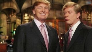 From youtube.com: Darrell Hammond on impersonating Donald Trump 'Saturday Night Live' former cast member Darrell Hammond on meeting Donald Trump after he impersonated the Republican presidential candidate. {MID-153198}