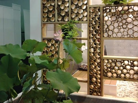 Bamboo decoration ideas - YouTube