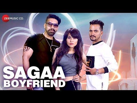 Sagaa Boyfriend - Official Music Video | Raju Rao, Pooja Thakre & Rohit Pandey | Pramod Kumar