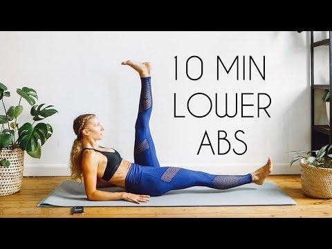10 Min INTENSE LOWER ABS Workout