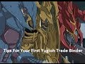 Tips For your first Yugioh Trade binder