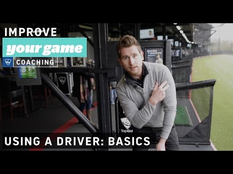 How to use a Driver - Golf Lessons with Topgolf