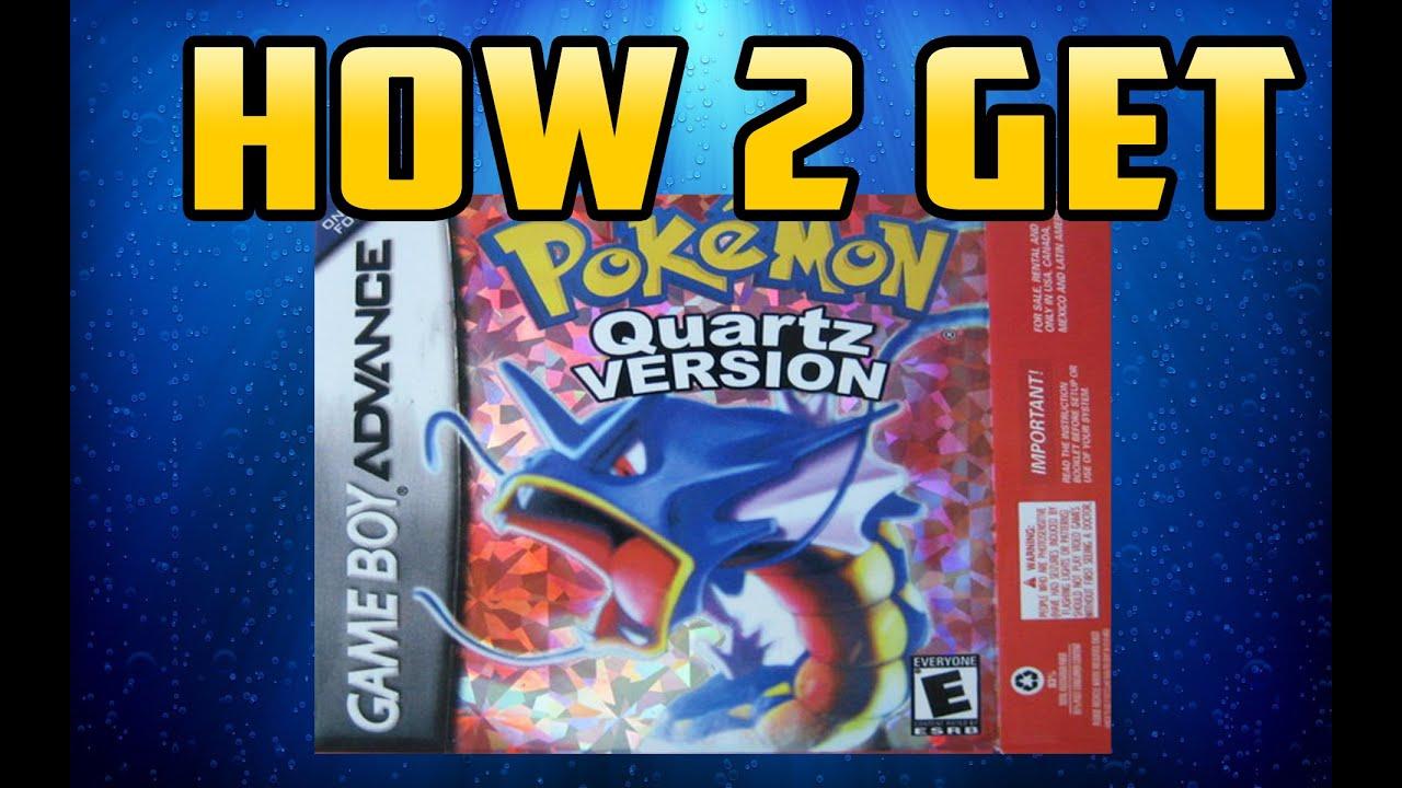 How To Get : Pokemon Quartz - YouTube