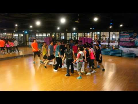 Sebastian Piatek Dance Aero in Fitness Seven Seoul