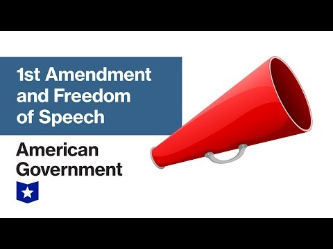 1st Amendment And Freedom Of Speech | American Government