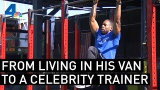 """A Trainer's Journey from Homelessness to """"American Ninja Warrior"""" Contestant 