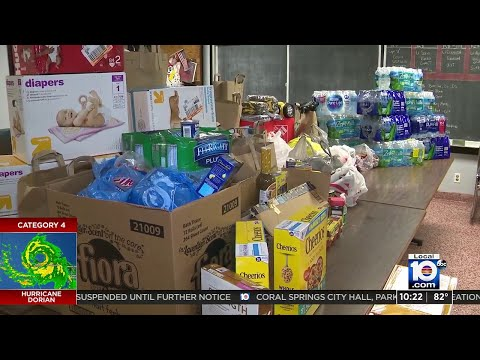 Donations For Bahamas Relief Being Accepted In Locations Across Miami-Dade County