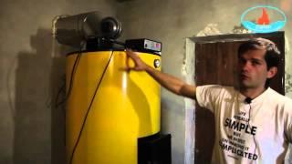 видео Буран 10 New котел твердотопливный длительного горения
