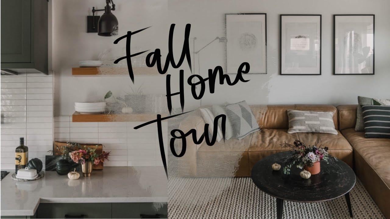 Cozy Modern Fall Home Tour 2020