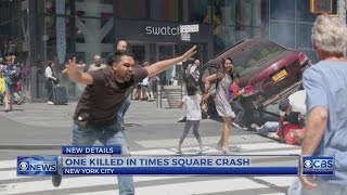 Navy veteran in custody after Times Square crash