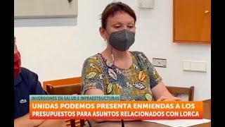 7TV - Los presupuestos regionales sólo dejan calderilla para Lorca