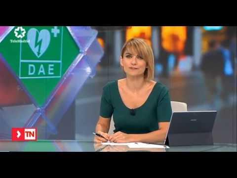 Telemadrid informa de la Cardioprotección mercados municipales Madrid con B+Safe (2 octubre 2017)