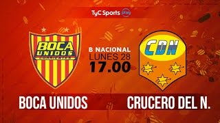 Boca Unidos vs Crucero del Norte full match