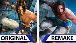 Prince Of Persia Sands Of Time Remake Vs Original Graphics Comparison Trailer Youtube