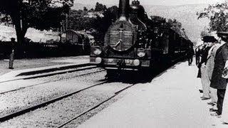 L'arrivée d'un train à La Ciotat (1896) - Auguste Lumière and Louis Lumière HD