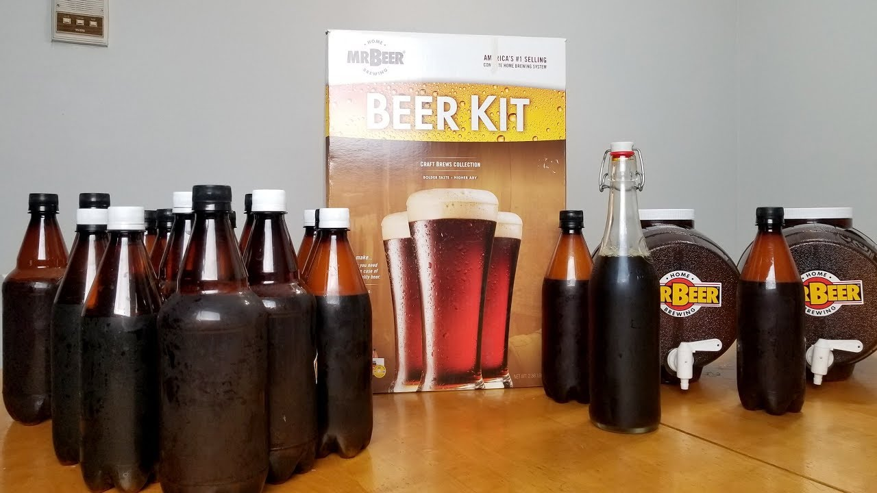 Mr Beer Unboxing Tutorial Review From Start To Finish Mr Beer Home Brewing Kit Review Youtube