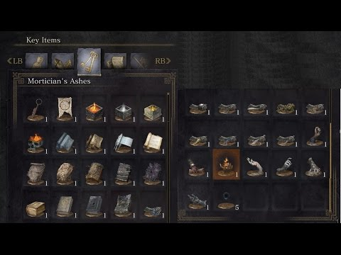 Dark Souls 3 - How to find all Coals / Tomes / Scrolls / Umbral Ashes
