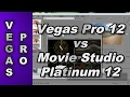 paring Sony Vegas Pro 12 To Sony Movie Studio Platinum ...