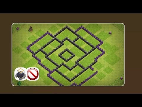 New TH8 DARK Elixir Saving Base 2016 with Replays