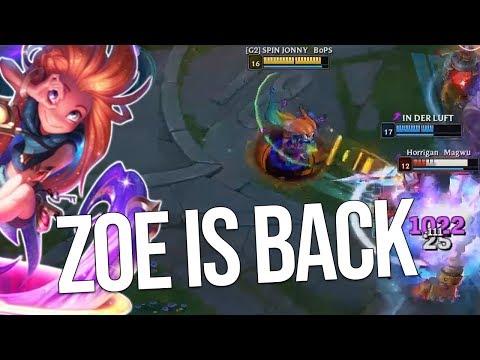 Zoe ist balanced (: | Stream-Highlights von Johnny