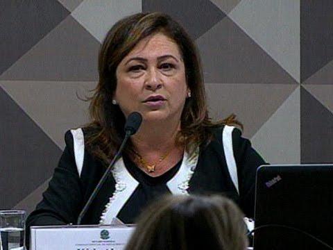 Kátia Abreu destaca a idoneidade da presidente Dilma Rousseff