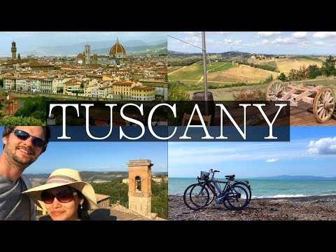 Tuscany Week Long Road Trip Vlog | Florence, Siena, Pisa, Wine Tasting, Things to Do