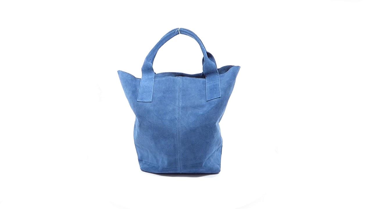 e9b35b5063 Talianska kabelka Made in Italy brúsená koža - MK-490992 - YouTube