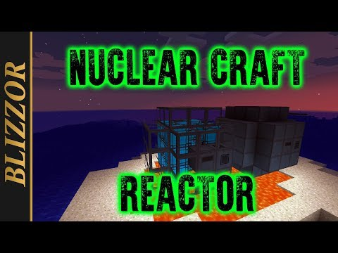 NuclearCraft - Reactor Setup [Tutorial] [Deutsch] [GER] - YouTube