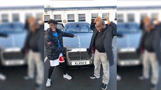 I BOUGHT MY AFRICAN DAD HIS DREAM CAR **ROLLS ROYCE** (emotional)🤫🤣😭