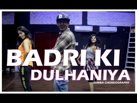 Badri Ki Dulhania dance choreography on title track I Zumba Bollywood fitness I Vicky & aakanksha